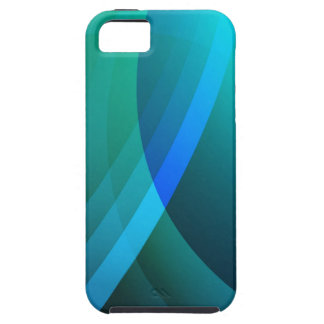 Blue Swirl Case For The iPhone 5