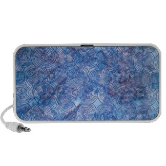 Blue Swirl Doodle Speaker