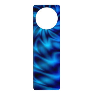 Blue Swirl Door Hanger