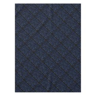 Blue Swirls Pattern Tablecloth