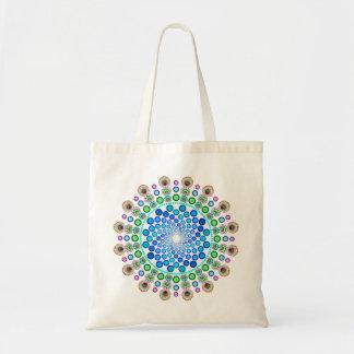 Blue Swirls Tote Bag