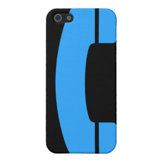 Blue Symbol Covers For iPhone 5