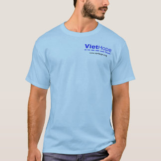 "BLUE T-SHIRT ""Sailboats"" (LOGO IN FRONT)"