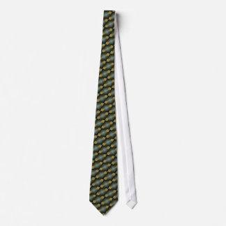 Blue Tan Diamond Pattern, Tie