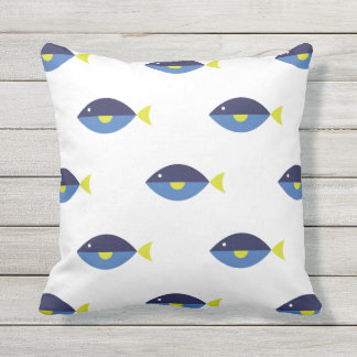 Blue Tang Cushion