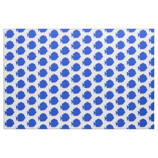 Blue Tang Fabric