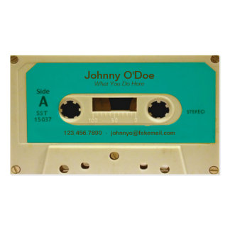 Blue Tape Pack Of Standard Business Cards