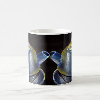 Blue Tea Set Mug (Lori Corbett)