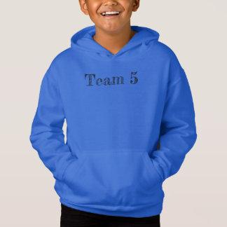 Blue team 5 hoodie