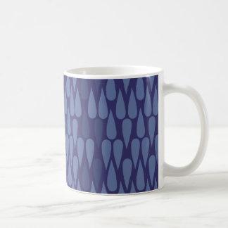 Blue Teardrop Mug