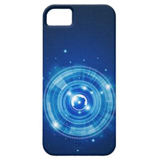 Blue tech design iPhone 5 cover