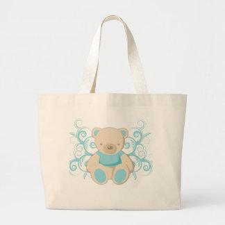 Blue Teddy Bear Bag
