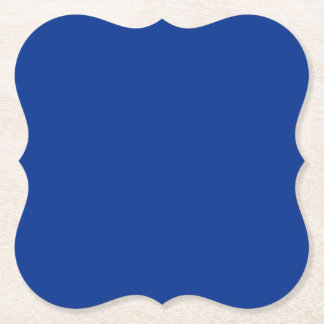 BLUE Template DIY change colour ADD TEXT IMAGE Paper Coaster