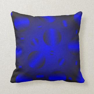 Blue texture cushion