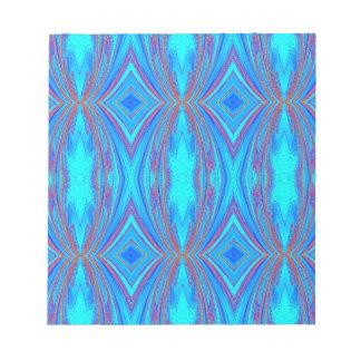 Blue texture notepad