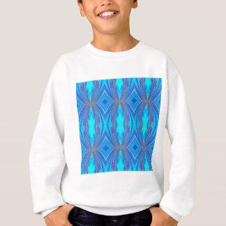 Blue texture sweatshirt