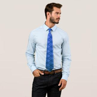 Blue texture tie