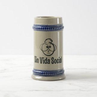 Blue the Gray Gagotas/650 ml Jar of beer Beer Stein