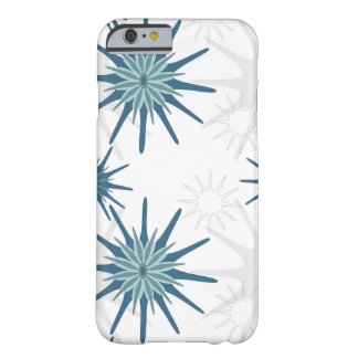 Blue thistle barely there iPhone 6 case
