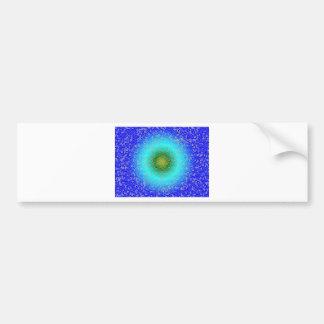 Blue through the net bumper sticker
