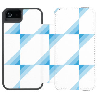 Blue Tidel Wallet Phone Case Incipio Watson™ iPhone 5 Wallet Case