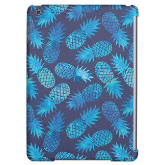 Blue Tie Dye Pineapples