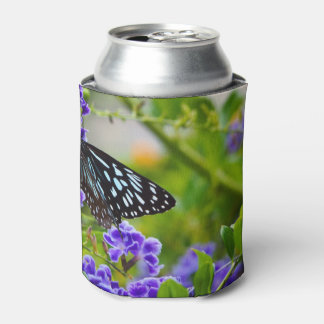Blue tiger butterfly can cooler