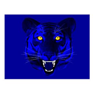 Blue Tiger Postcard