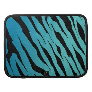 Blue Tiger Stripe Smartphone Folio Folio Planners