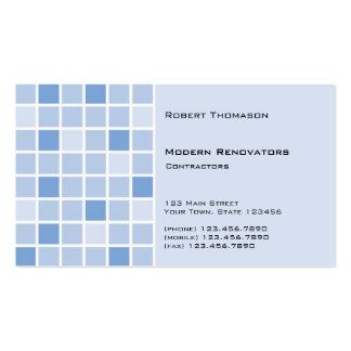 Blue Tile Business Card