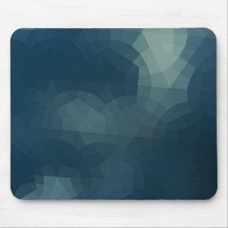 Blue Tile Mouse Pad