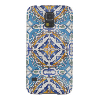Blue Tiles Galaxy S5 Cover