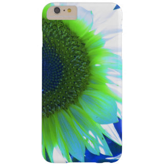 Blue Tinted Sunflower Barely There iPhone 6 Plus Case