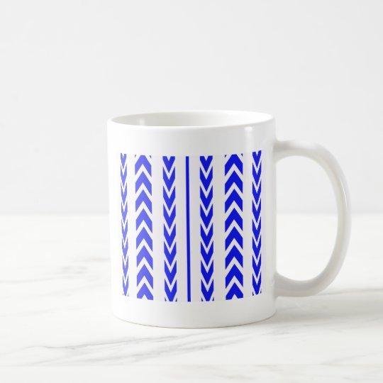 Blue Tire Tread Coffee Mug