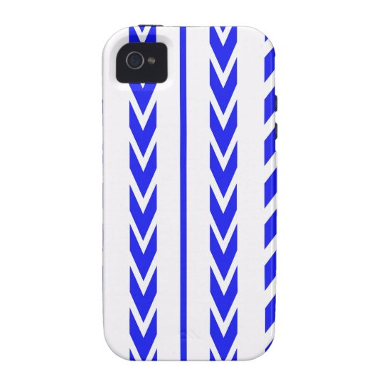 Blue Tire Tread iPhone 4/4S Covers