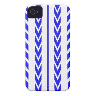Blue Tire Tread iPhone 4 Case-Mate Case