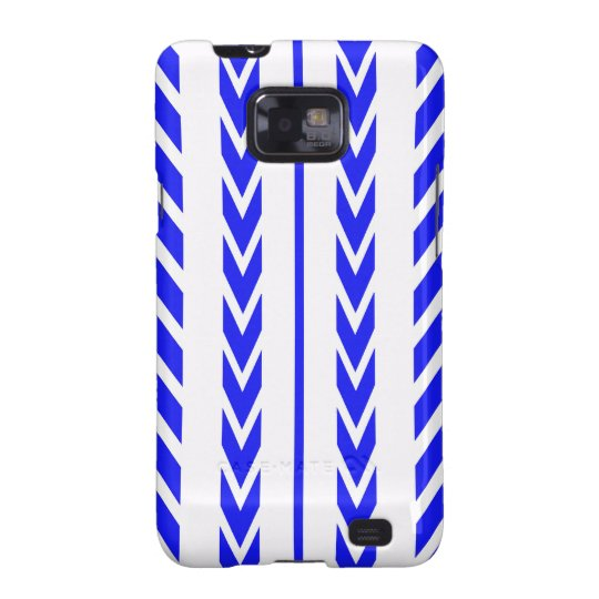 Blue Tire Tread Samsung Galaxy S2 Cover
