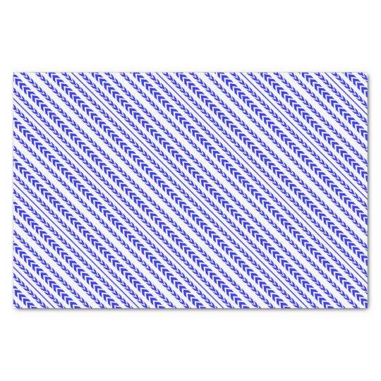 Blue Tire Tread Tissue Paper