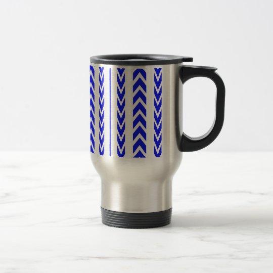 Blue Tire Tread Travel Mug
