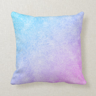 Blue to purple frozen cushion