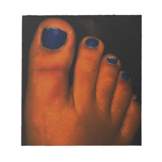 BLUE TOES NOTEPADS