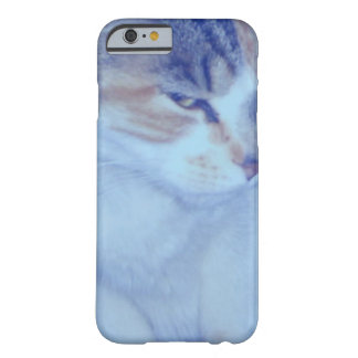 Blue Tone Calico Kitty Barely There iPhone 6 Case