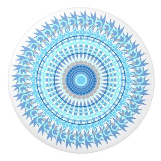 Blue Tones Mandala Knob