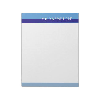 Blue Tones Memo Pad
