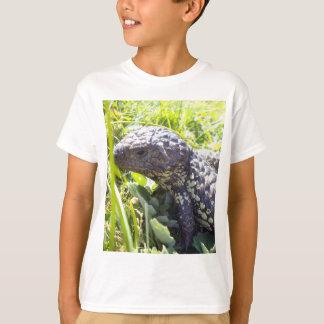 Blue_Tongue_Lizard,_Kids_White_T-shirt T-Shirt