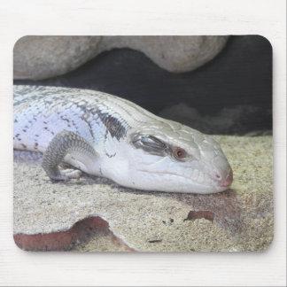 Blue Tongue Mouse Pad