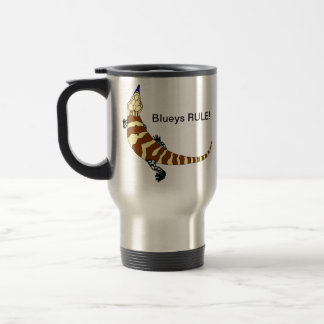 Blue Tongued Skink Travel Mug
