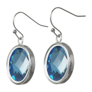 Blue Topaz 2 Earrings