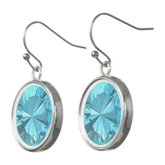 Blue Topaz 3 Earrings