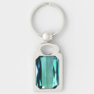 Blue Topaz 4 Key Ring